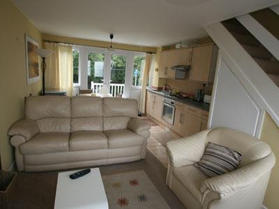 Interior of 'Seagull' - 'Seagull' 131 Freshwater Bay Holiday Village - Freshwater East - rentals