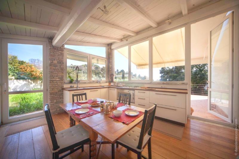 Kitchen - Villa Zanego seaview with park, Lerici near 5Terre - Cinque Terre - rentals
