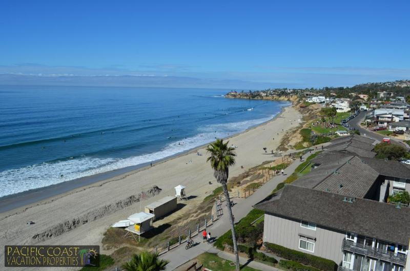 View from the balcony - Capri by the Sea - Best Ocean Views in PB! - Pacific Beach - rentals