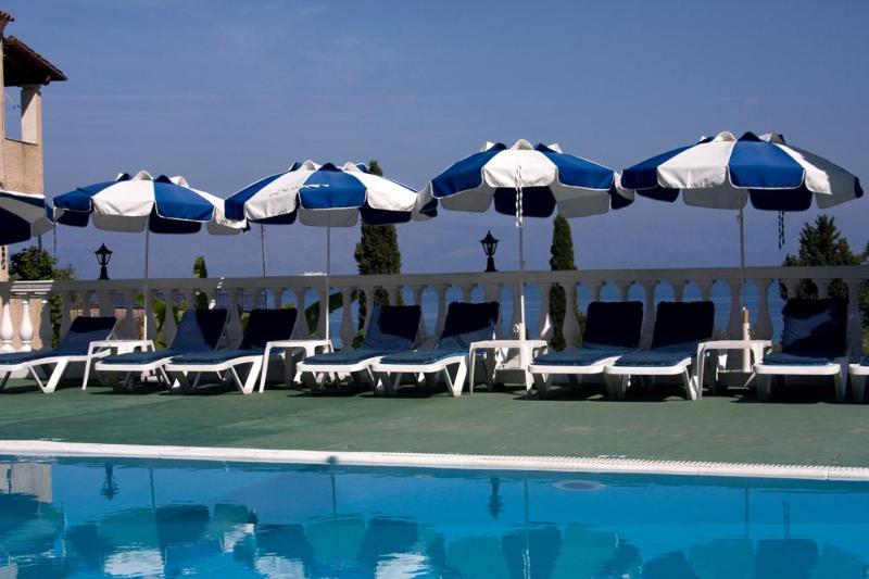Pool - Andromaches Holiday Apartment Sea view apartmen 4P - Corfu - rentals