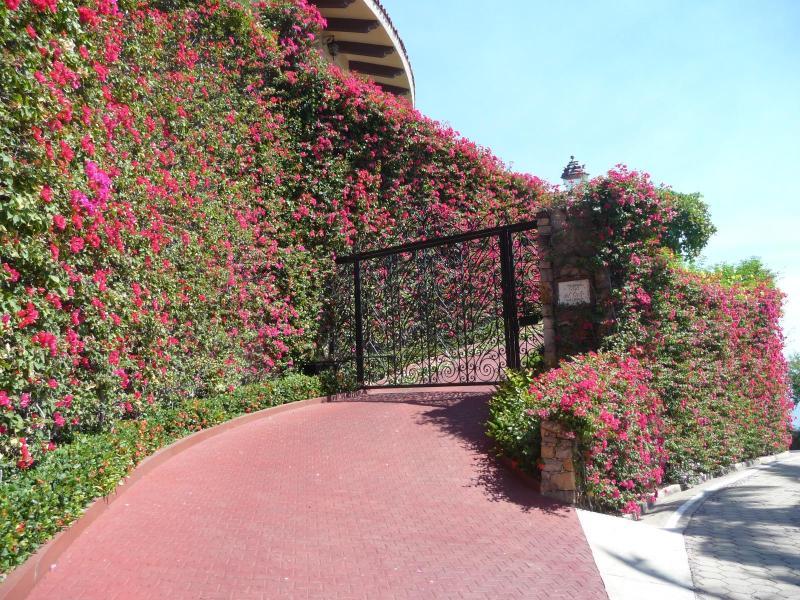 Entrance to Casa de Cielo - CASA DE CIELO (All inclusive) , La Punta, Mzllo,MX - Manzanillo - rentals