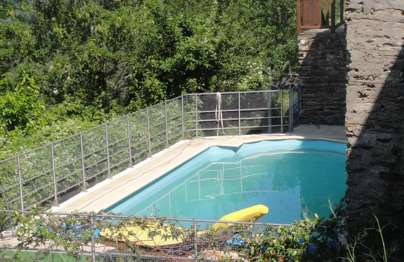 South-facing Pool - Mas Souteyran, Cevennes, France. (website: hidden) - Gard - rentals