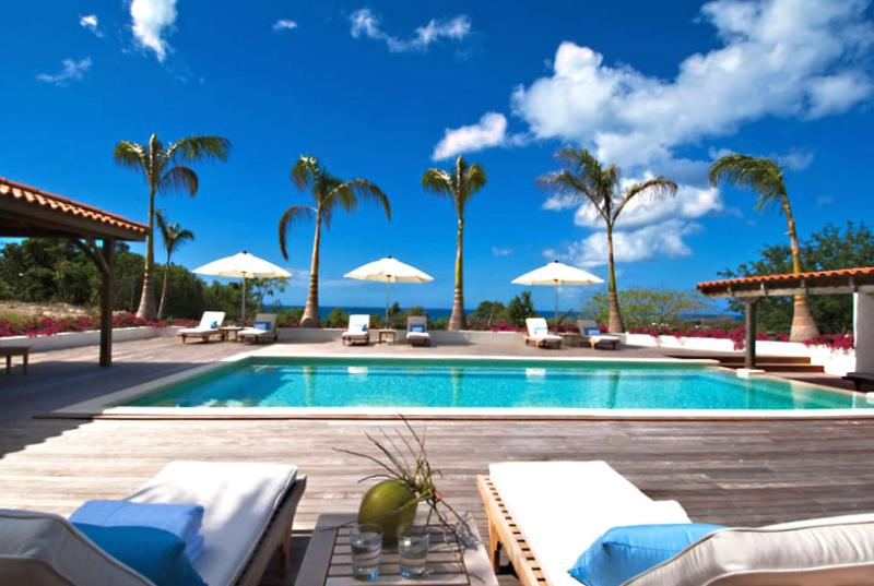 SPECIAL OFFER: St. Martin Villa 72 The Combination Of Splendid Sunset Views And Lush Landscaping Gives A New Perspective To Tropical Beauty. - Image 1 - Terres Basses - rentals