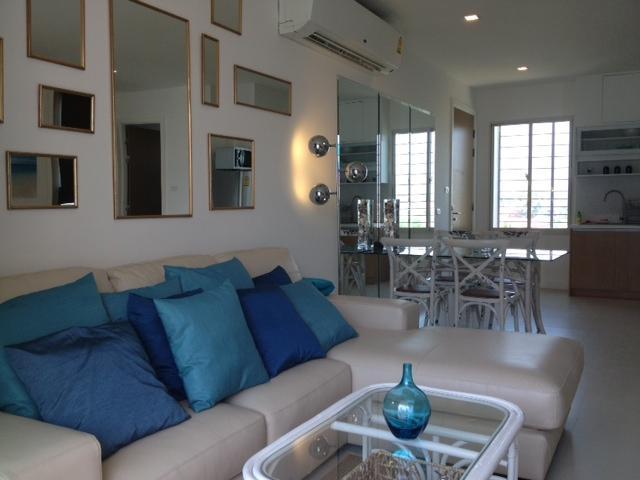 Living area - Hua Hin Seacraze Condomium - Hua Hin - rentals
