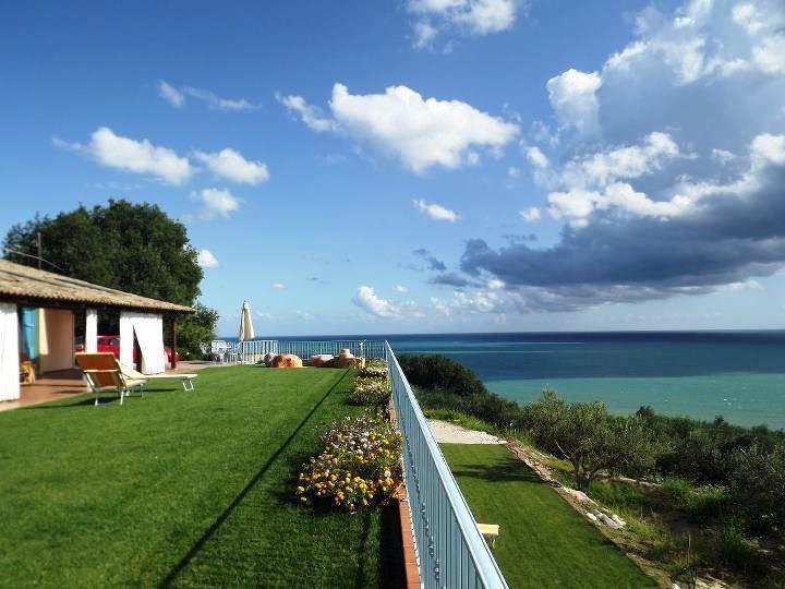 Giardino pensile con vista mare - Rifugiomare - Rocca San Giovanni - rentals