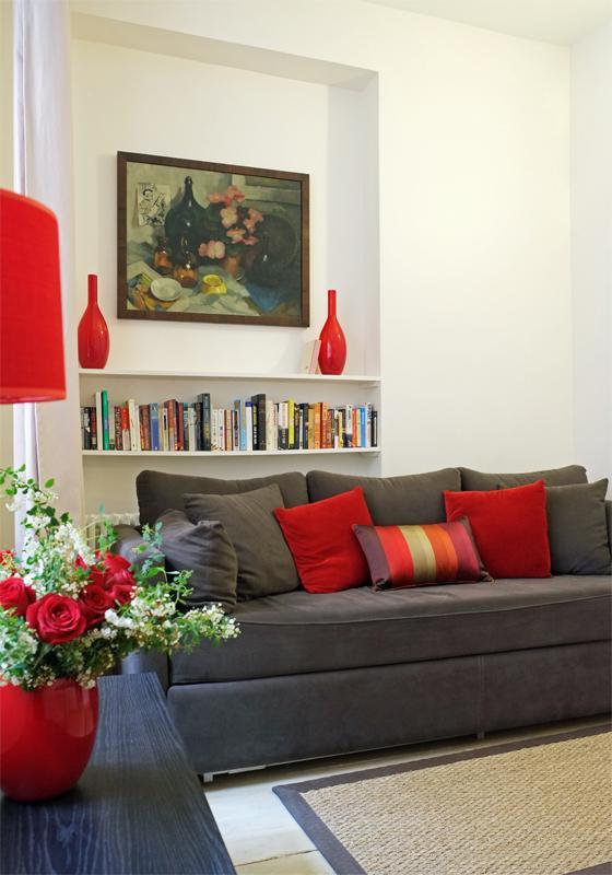Living Room - Musee d'Orsay 1 Bedroom Apartment - Paris - rentals