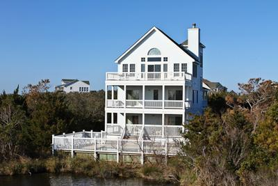 Back of the house - Lady of the Lake - Avon - rentals