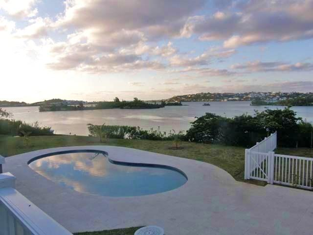 Your view from C66 - C66. Poolside Apartments overlooking the Sound - Bermuda - rentals