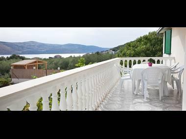 A1(7+1): terrace - 6003 A1(7+1) - Seget Vranjica - Seget Vranjica - rentals