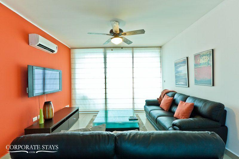 Panama City Paitilla Breeze 2BR Temporary Home - Image 1 - Panama City - rentals