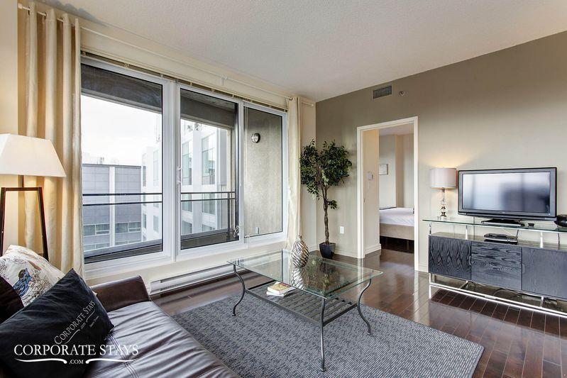 Vida 1BR | Furnished Corporate Rental | Montreal - Image 1 - Montreal - rentals