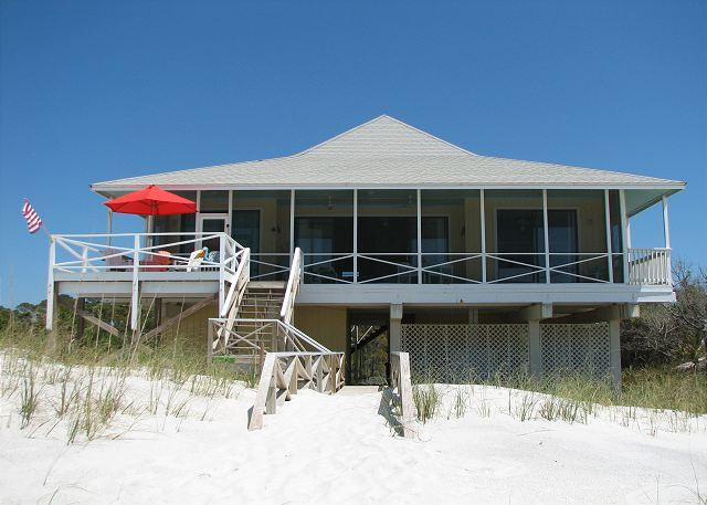 Heath House - Gulf Front Home Located on the Most Secluded Beach on Cape San Blas - Cape San Blas - rentals