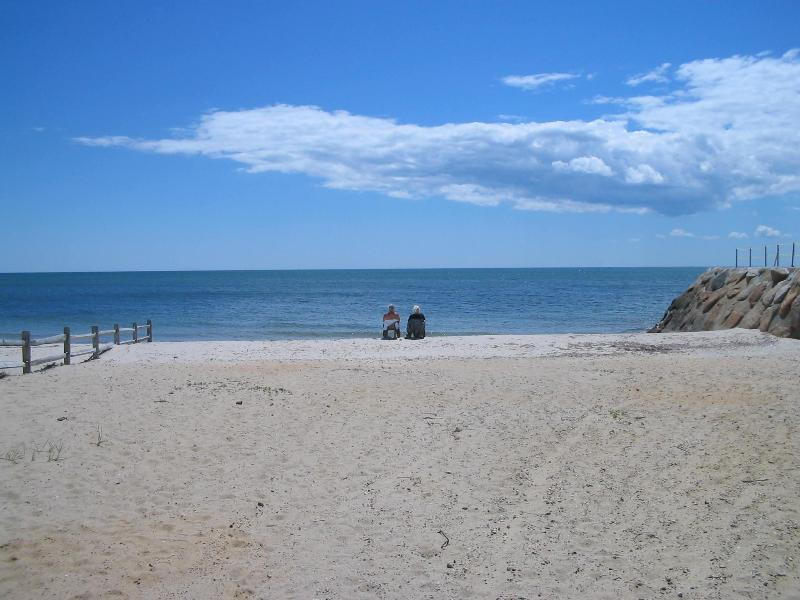 Semi-private beach right across the street - Beautiful Cape Condo 25 Feet From the Ocean - Dennis Port - rentals