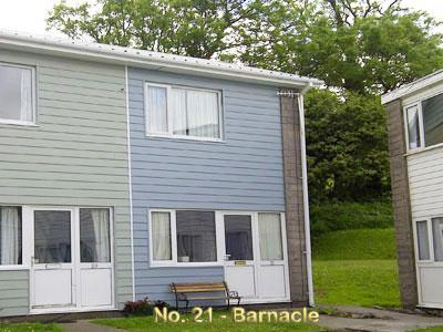 Exterior of Barnacle - 'Barnacle' 21 Freshwater Bay Holiday Village - Pembroke - rentals