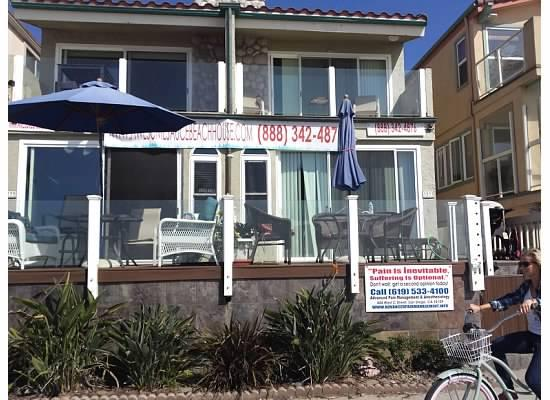 OCEAN FRONT VIEW - Awesomesaucebeachhouse - Pacific Beach - rentals