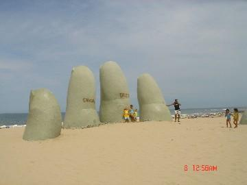Brava Beach across from apartment - Beautiful apartment ! by the beach! - Punta del Este - rentals