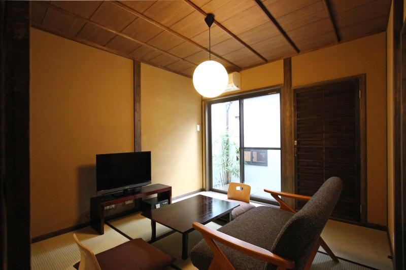 """Okunoma""or living space in Fushizome-an - Charming & Quality Kyoto Machiya Townhome  (South) - Kyoto - rentals"