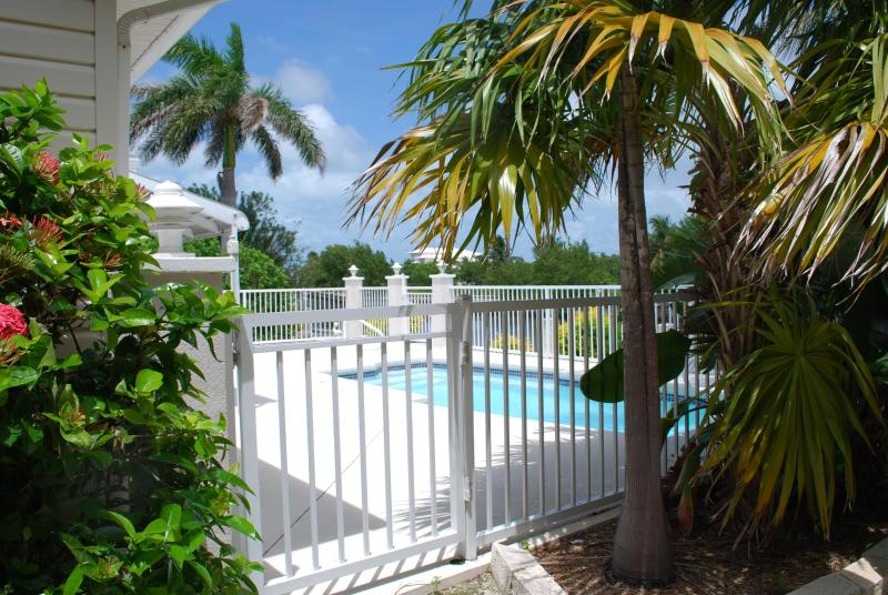 Backyard Pool with view of ocean- last canal before the ocean-a kayak ride away - Its 5 O'Clock Somewhere! Welcome to Somewhere! - Marathon - rentals