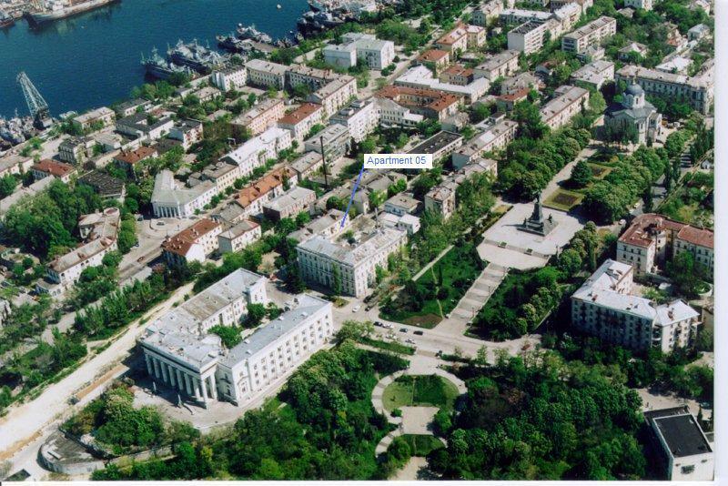 Sovetskaya 3 One  bed rooom apt in the city center - Image 1 - Sevastopol - rentals