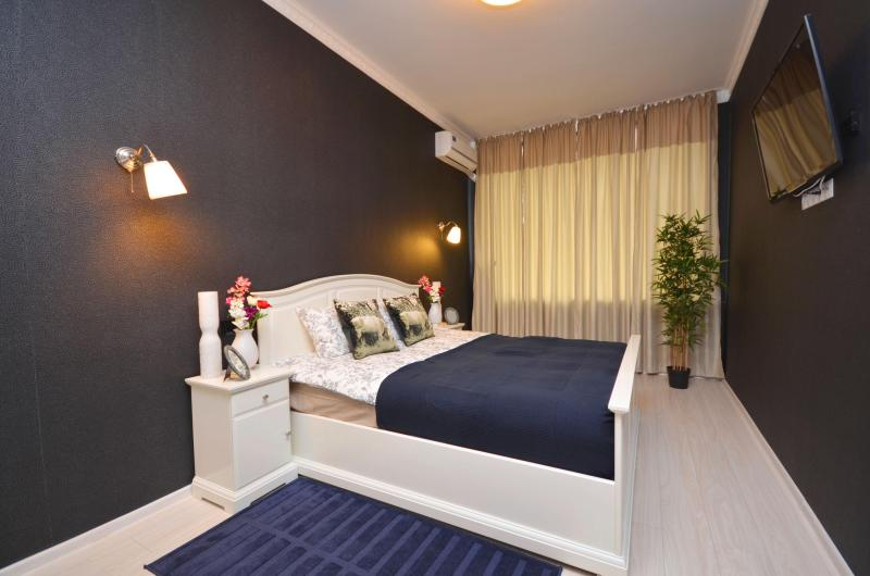 King bed with orthopedic mattress - Only 100 meters/yards to Red Square/Kremlin! - Moscow - rentals