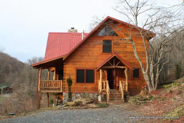 Cozy Newer Log Cabin*BIG VIEW*Hot tub*Fireplace - Image 1 - Zionville - rentals
