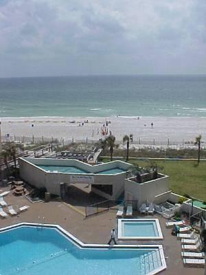 Efficiency-View of Gulf and Pool at Top of the G - Image 1 - Panama City Beach - rentals