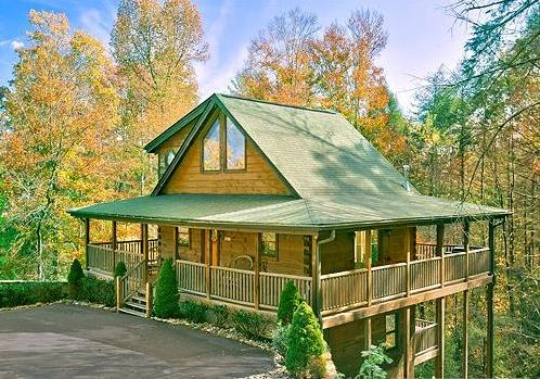 Outside View - CEDAR FOREST -Private-Home Theater- 2/2 - Sevierville - rentals