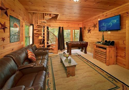 Theater Room - CEDAR FOREST-Private-Home Theater-3 Stories-2/2 - Sevierville - rentals