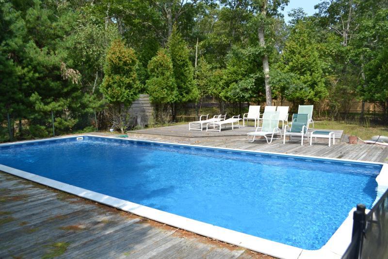 Inground pool - 5 bedrooms East Hamptons house w/ pool, WiFi, BBQ - East Hampton - rentals