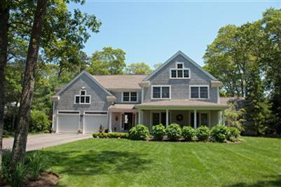 FRONT OF HOUSE - Cape Cod Centerville Contemporary Cape Rental - Centerville - rentals