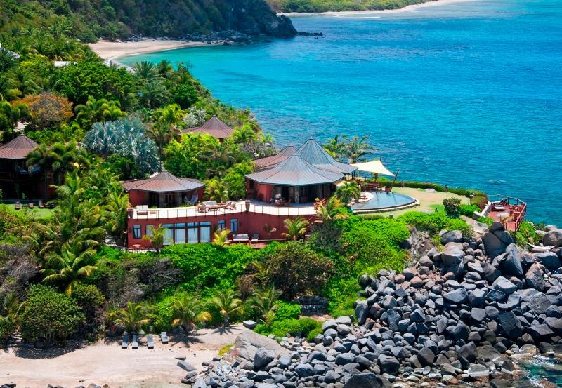 Aerial of Baraka Point - Baraka Point Estate - Virgin Gorda - rentals