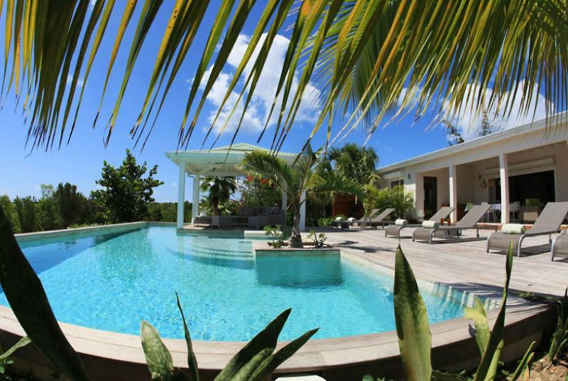 SPECIAL OFFER: St. Martin Villa 73 A Spacious And Elegant Three-bedroom Villa Overlooking The Caribbean Sea. - Image 1 - Terres Basses - rentals