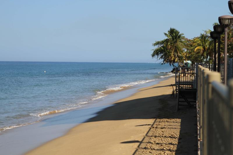 Your own private beach - Beachfront Rental in Corcega Beach, Rincon, PR - Rincon - rentals