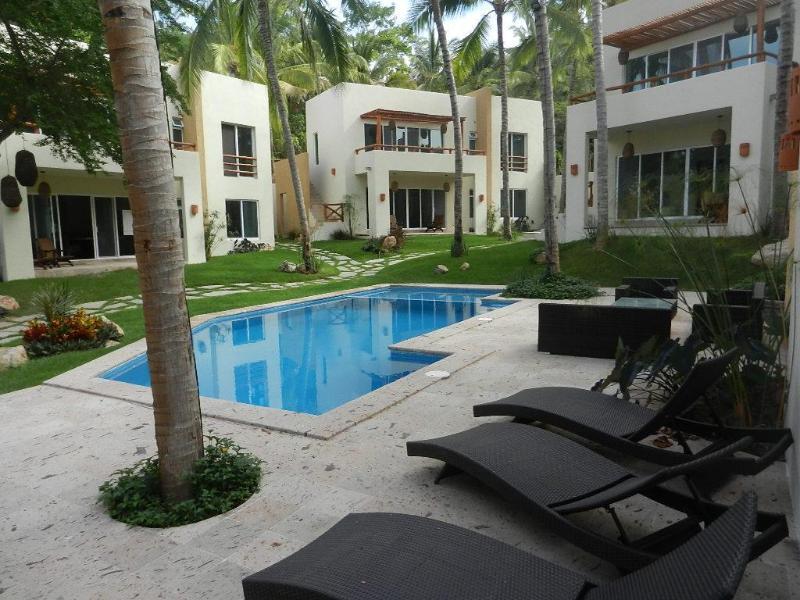 Casa Manantial Pool view - Casa Manantial in Sayulita, beach front condo! - Sayulita - rentals