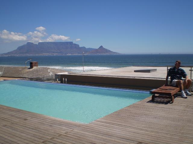Pool deck overlooking beach and Table Mountain - Pools @ The Beach - Cape Town - rentals
