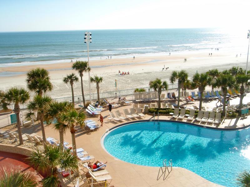 One of the 3 outdoor pools - Wyndham Ocean Walk - Daytona Beach - rentals