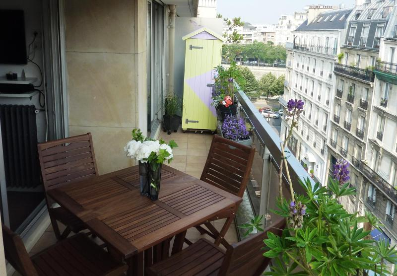 Relax on the calm terrace with nice views - 0ec5a34e-8008-11e2-87c3-782bcb2e2636 - Paris - rentals