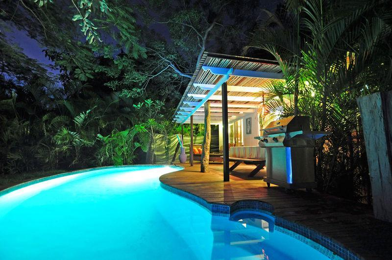 Beach Front Charming House with Private Pool - Image 1 - Playa Junquillal - rentals