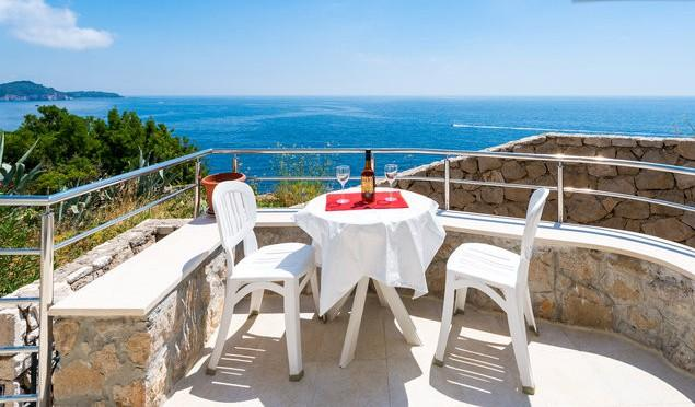 One bedroom condo/magnificent view - Image 1 - Dubrovnik - rentals