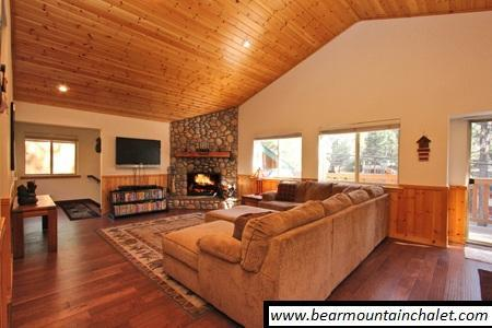 Fine furniture and finishes - Cool Luxury Cabin - Fun Game Room - Near Shopping - Big Bear Lake - rentals