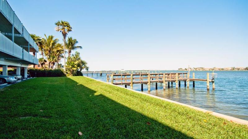 Boat Dock - Baywatch 8: 2BR Condo with Heated Pool and Dock - Bradenton Beach - rentals