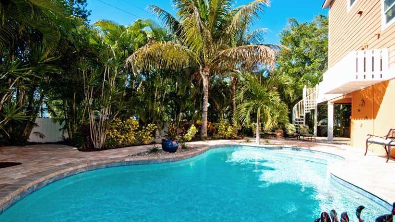 Inviting Pool - Egret's Nest: 4BR Pool Home near Beach - Holmes Beach - rentals