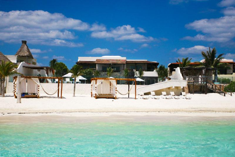 SPECIAL OFFER: Mayan Riviera Villa 25 Set On An Idyllic White Sand Beach. - Image 1 - Yucatan-Mayan Riviera - rentals