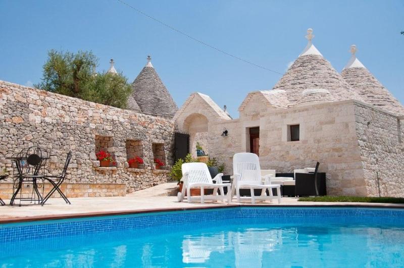 Shared pool area - Trulli Angela - Locorotondo - rentals