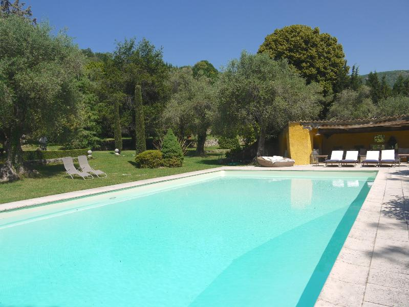 swimming pool - Gorgeous 5 Bedroom Villa - Interior Designer's Property-30 mins from Cannes - Le Bar-sur-Loup - rentals