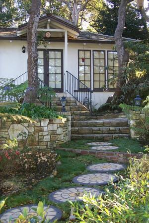 Garden Entryway - Carmel-by-the-Sea near Beach & Town, 30 DAY RENTAL - Carmel - rentals