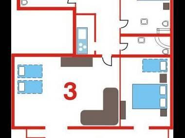 A3(5+3): floor plan - 6064 A3(5+3) - Makarska - Makarska - rentals