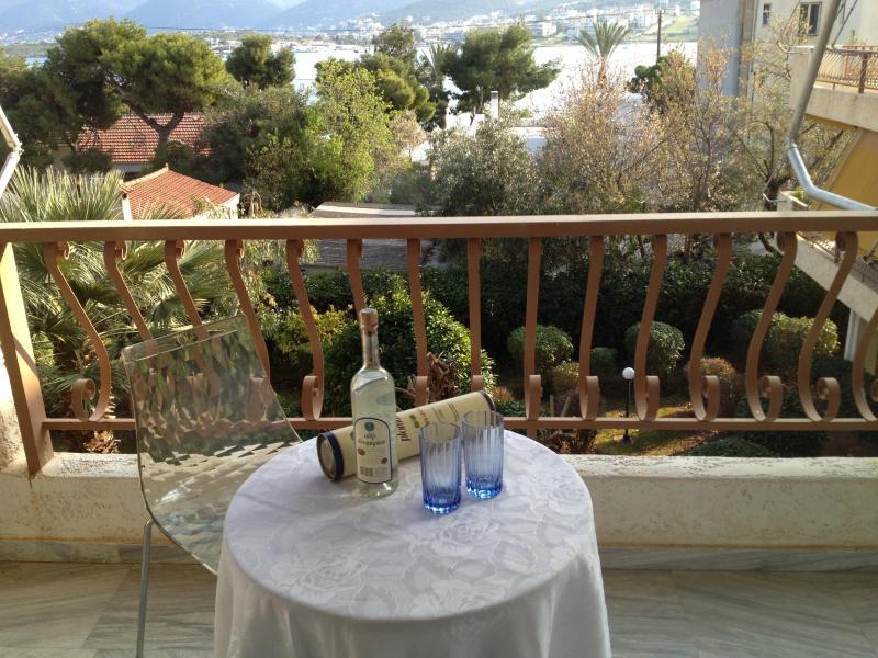 veranda - Beach condo, sea view - Drosia - rentals