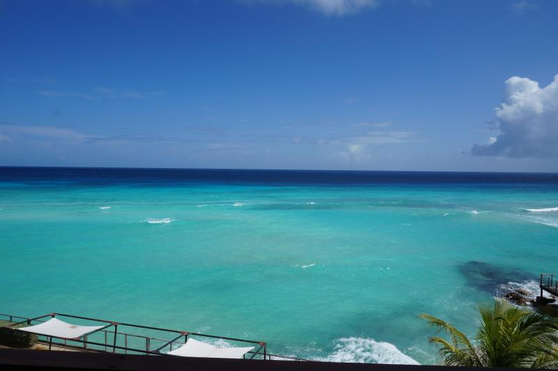 View from Condo - Oceanfront Barbados Paradise - Worthing - rentals