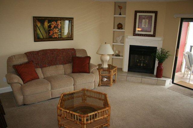 Living Room - Las Brisas Unit 204, New Smyrna Beach, Florida - New Smyrna Beach - rentals